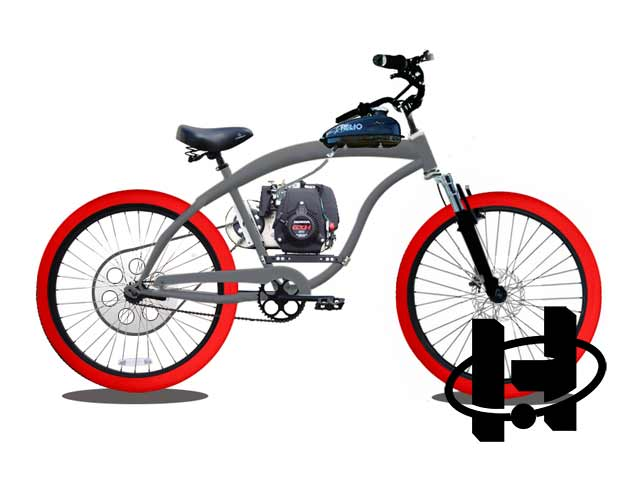 Superbike EZM Motorized Bicycle